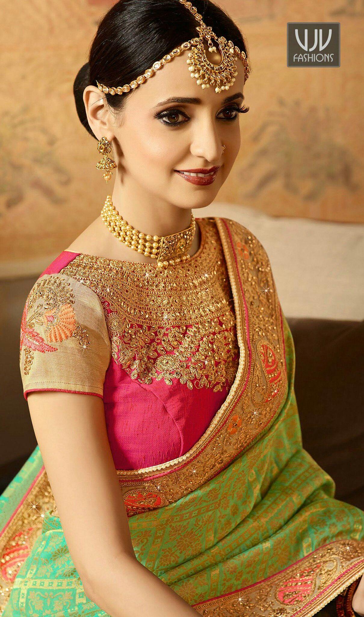 3a29b3ed49 Very pretty | Sanaya irani in 2019 | Saree, Saree wedding, Blouse ...