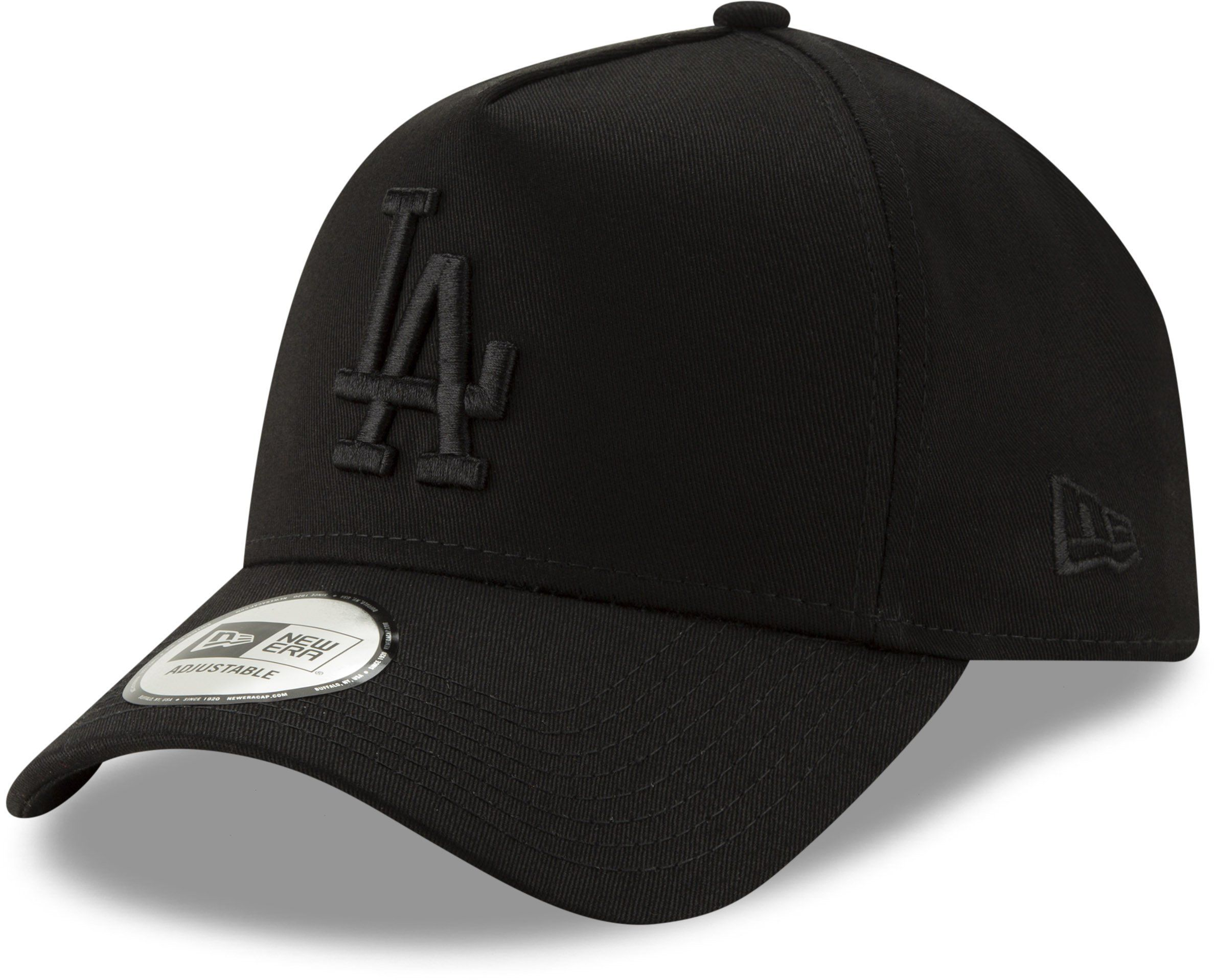 be4b3b4d7b4 LA Dodgers New Era Leaue Essential A-Frame Baseball Cap - Black – lovemycap