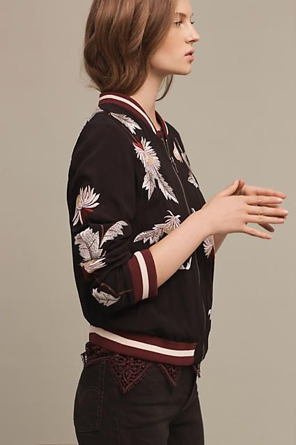 0c4b20fbf Embroidered Solstice Bomber - anthropologie.com | Anthro 2 ...