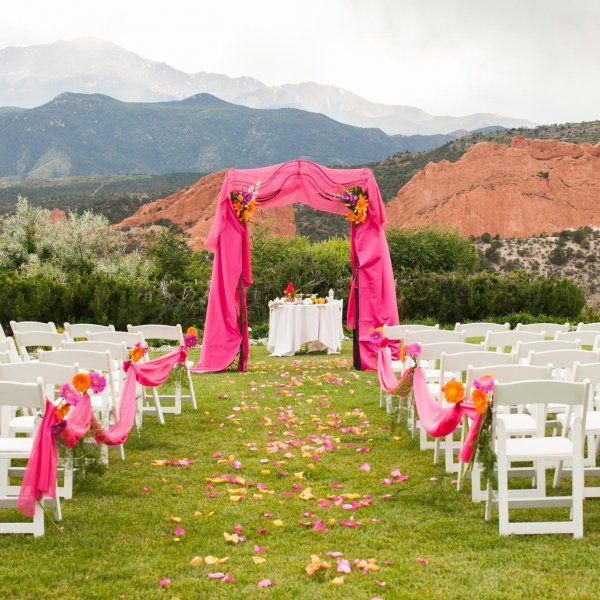Eye Catching Ideas For Your Ceremony Backdrop