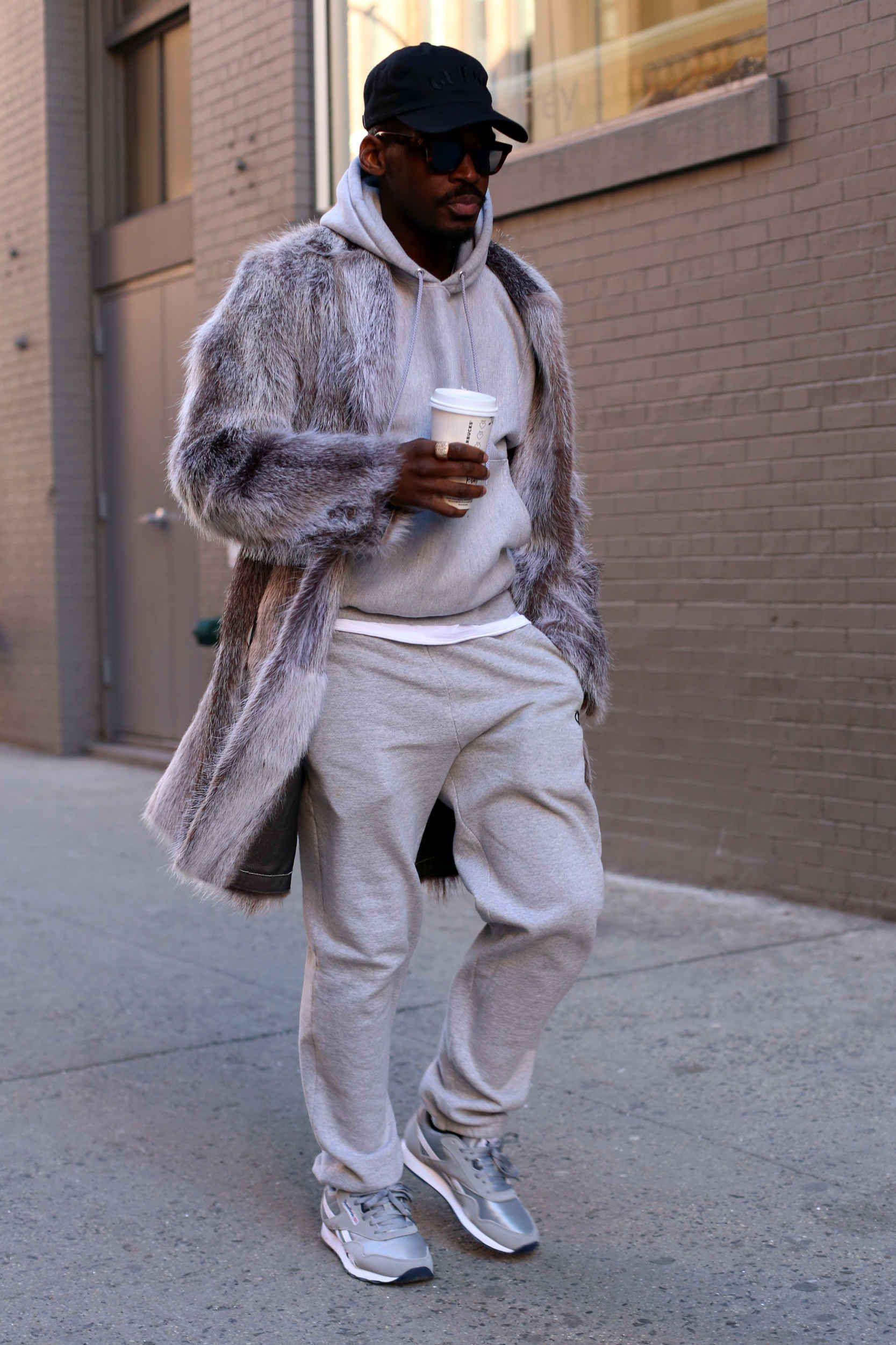 On Day 3 of Fashion Week, Show-goers Stayed Cozy in Color Coordinated Layers - Fashionista