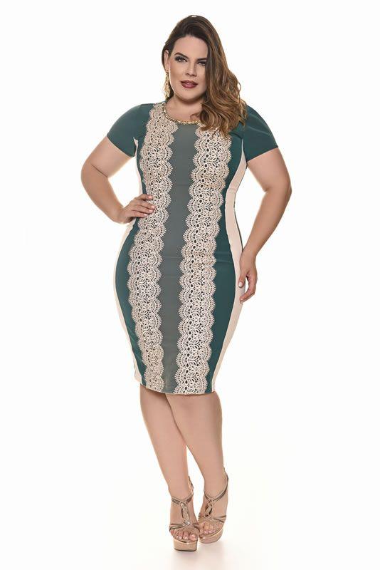 6ed418924 Plus size - Fascinius Moda Evangélica   Anny viva   Vestidos, Mini ...