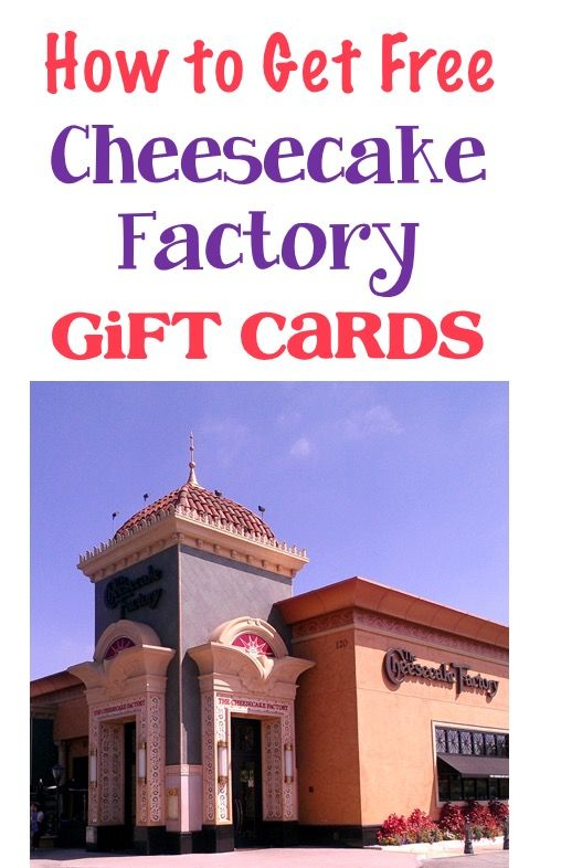 Cheesecake Factory - How to Earn Free Gift Cards! My favorite money saving tip for my favorite restaurant!