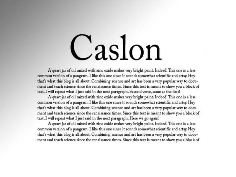 Caslon Font Free Download - Fonts Empire | Caslon Font Free Download