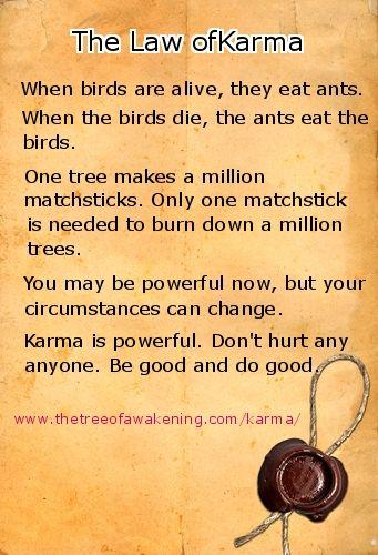 K Karma Helps Me Cope Law Of Karma Selfish People Quotes Karma