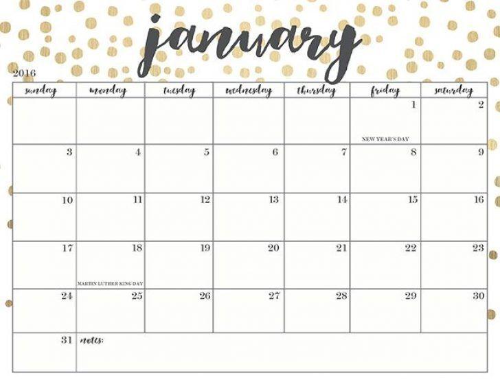 January 2019 Calendar With Holidays | January 2018 ...