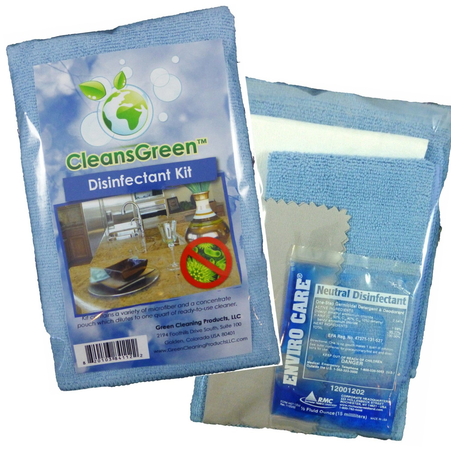 Kill The Germs Hospital Grade Disinfectant Cleaner Reusable Disinfecting Wipes Kit Greencleaning Babysafe Petsafe Http Www Amazon Com Dis Green Cleaning