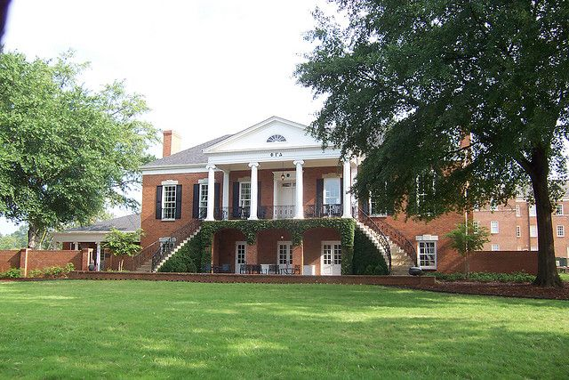 Phi Gamma Delta House Styles University Of Alabama House
