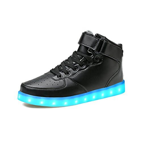 best website d63b7 8462c LeKuni Unisex LED Schuhe Leuchtschuhe 7 Farbe Blinkschuhe ...