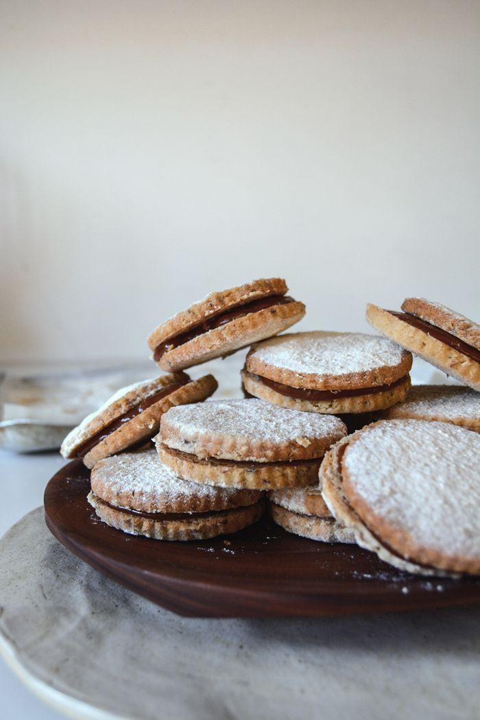 Clair Ptak's Pecan Caramel Sandwich Cookies ° eat in my kitchen x Violet Bakery London