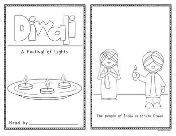 Diwali Emergent Reader {Hindu New Year} Holidays Around