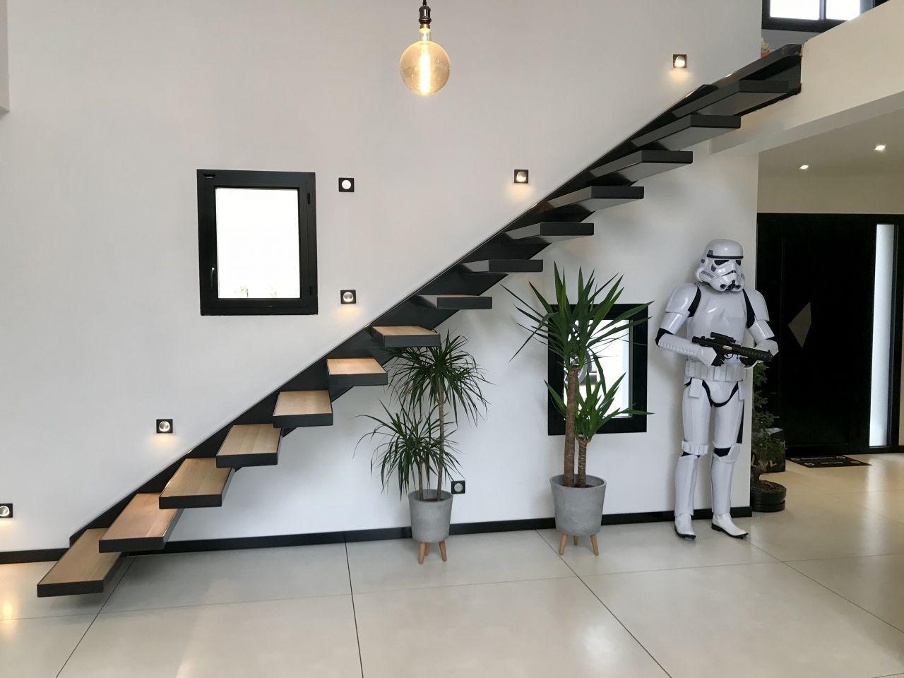 Escalier Dans Un Salon sans description | escaliers maison