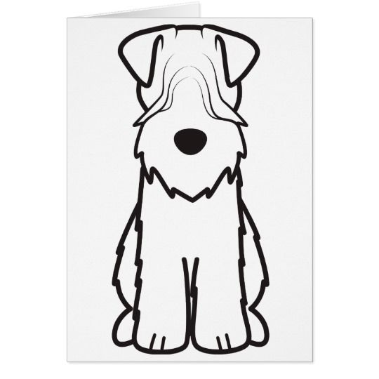 Soft Coated Wheaten Terrier Card | Wheaten terrier, Terrier and Pet art