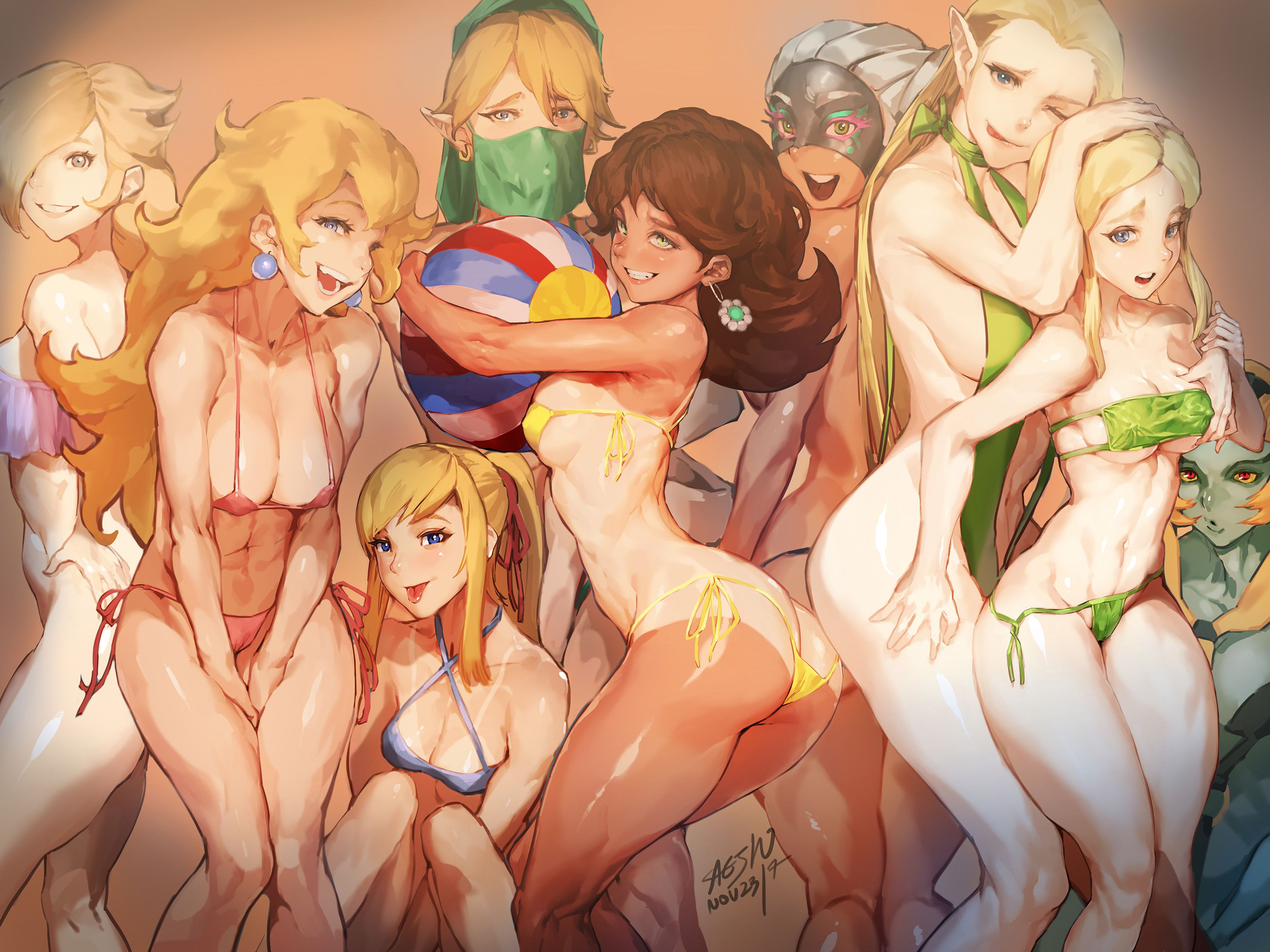 Nintendo girls sexy picture collection