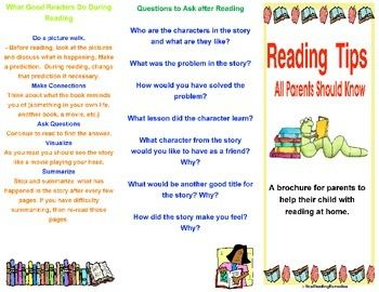 Meet The Teacher Parent Resource Reading Tips For Parents