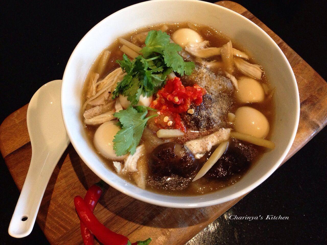 Braised Fish Maw In Brown Soup Kra Por Pla Nam Dang กระเพาะปลาน ำแดง Beef Brisket Recipes Brisket Recipes Braised