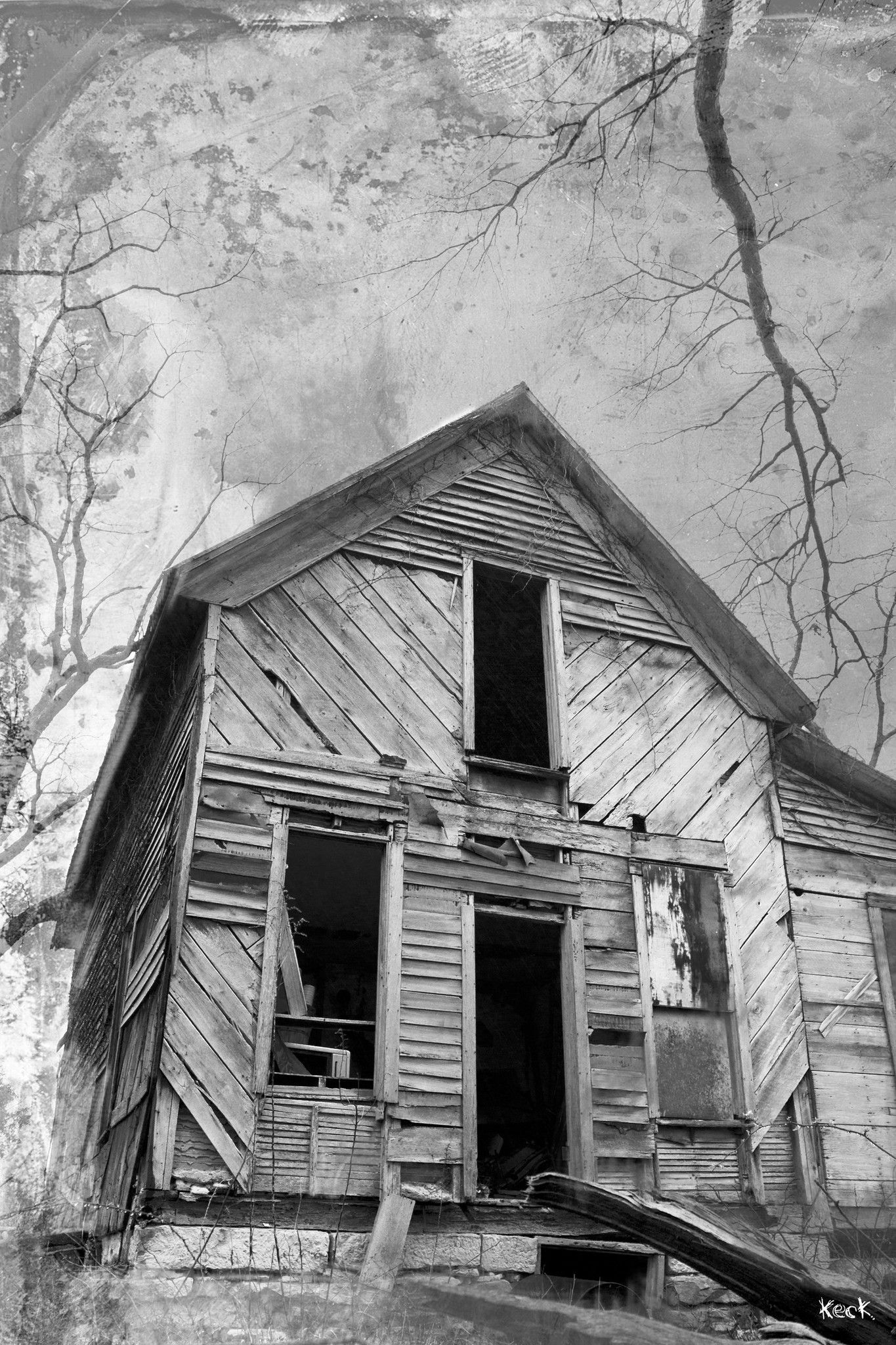 Abandoned Rural American Photography Vintage Film Old Abandoned ...