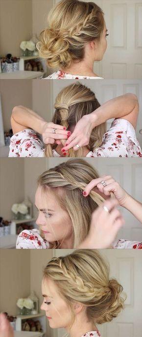 Genial einfache süße Frisuren Schritt für Schritt #easyformalhairstyles