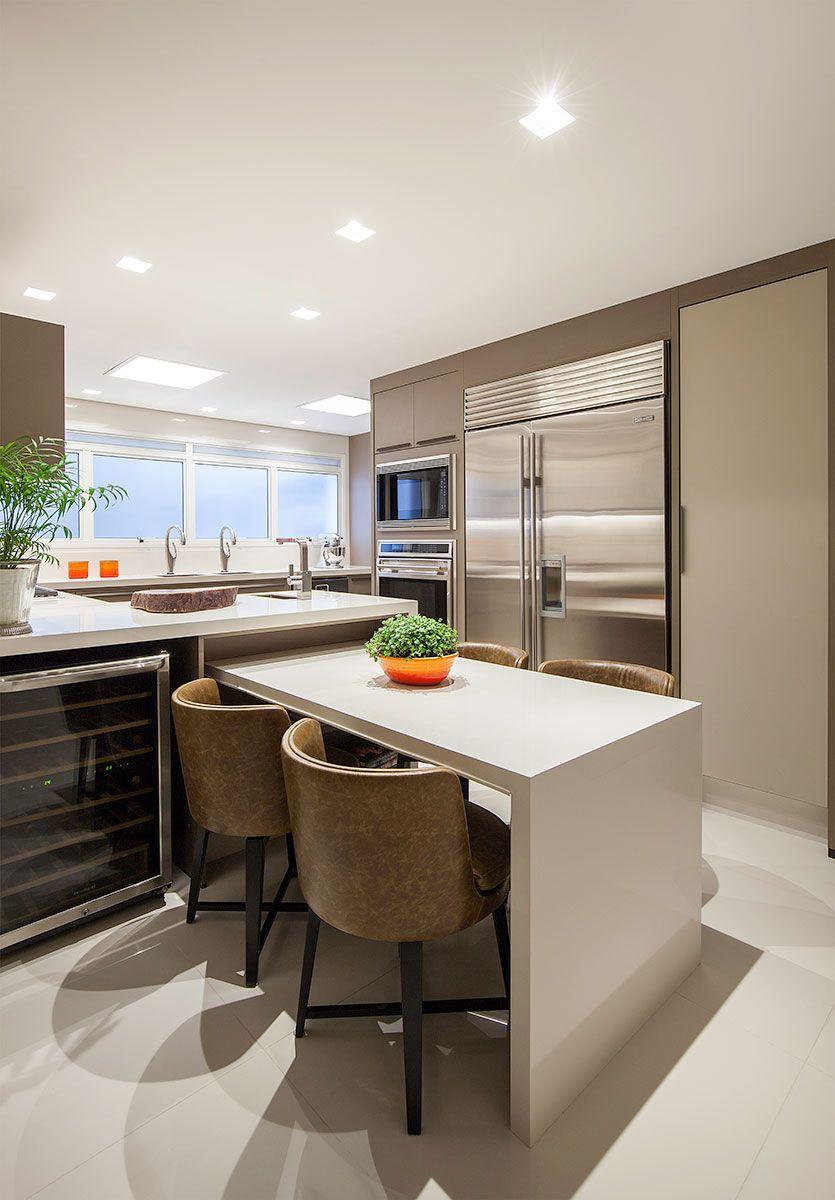 Para Um Casal De Executivos Com Imagens Cozinhas Modernas