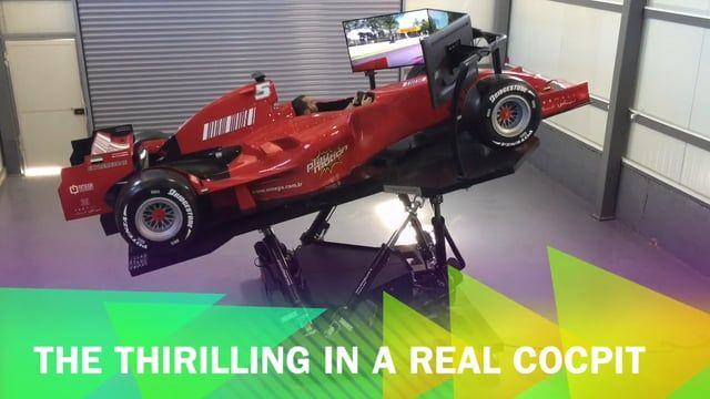 PLAYMOTION F1 RACING SIMULATOR & FULL-BODY REPLICAR