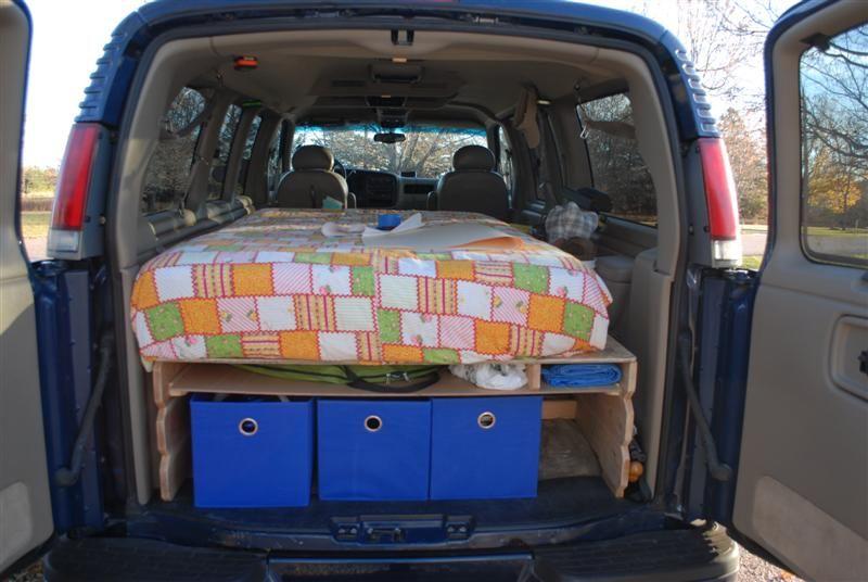 My 2001 Camper Conversion Van