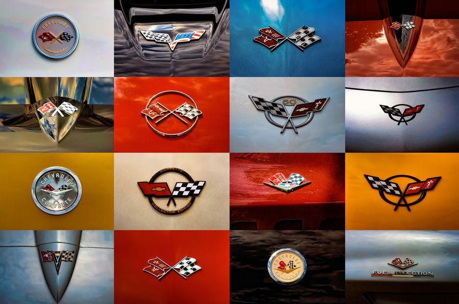 O Connor Chevrolet >> Corvette Emblem poster-edit by theCrow65.deviantart.com | Corvette, Corvette art, Classic corvette