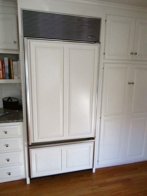 Sub Zero 650 Refrigerator Freezer 84 Tx36 W