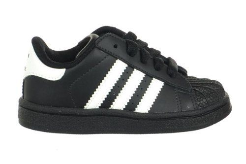 63d95bfa51ee Adidas Superstar II INF Toddlers Shell Top Shoes Black White adidas.  44.95