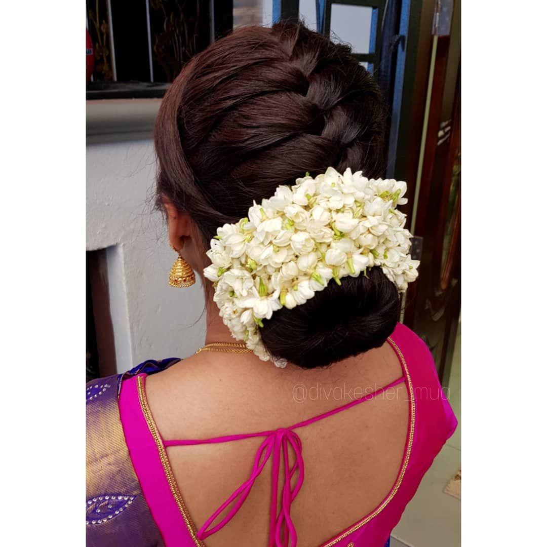 Braid Jasmine For Enquiries 60162863396 Faceboo Bridal Hair Buns Bun Hairstyles For Long Hair Formal Hairstyles