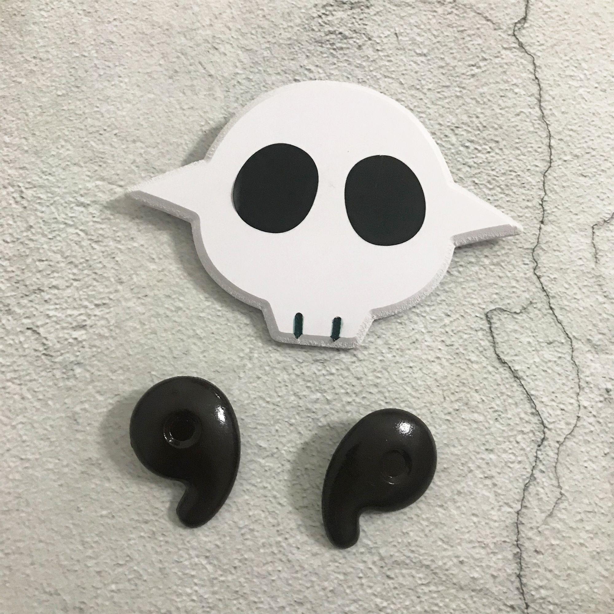 Toilet Bound Jibaku Shounen Hanako Kun Nene Yashiro Cosplay Props Skull Pin Badge Hair Clips Accessories In 2020 Cosplay Props Cosplay Skull Pin