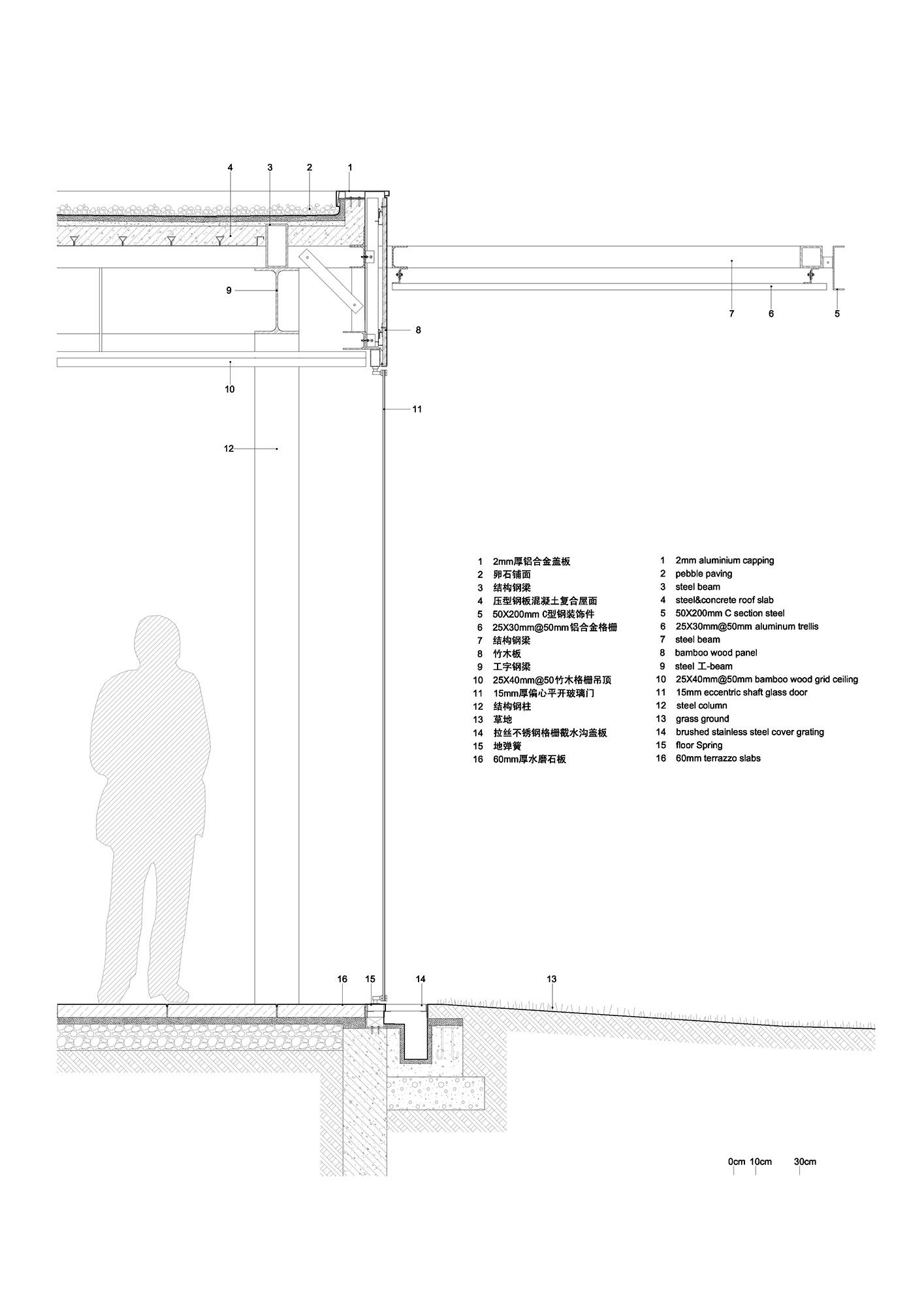 Eco Farm Series Harvest Pavilion Roof Detail Architecture Architecture Details