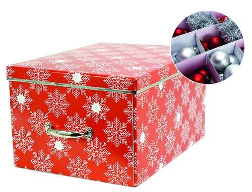 cardboard christmas decorations storage box - Christmas Decoration Storage Box