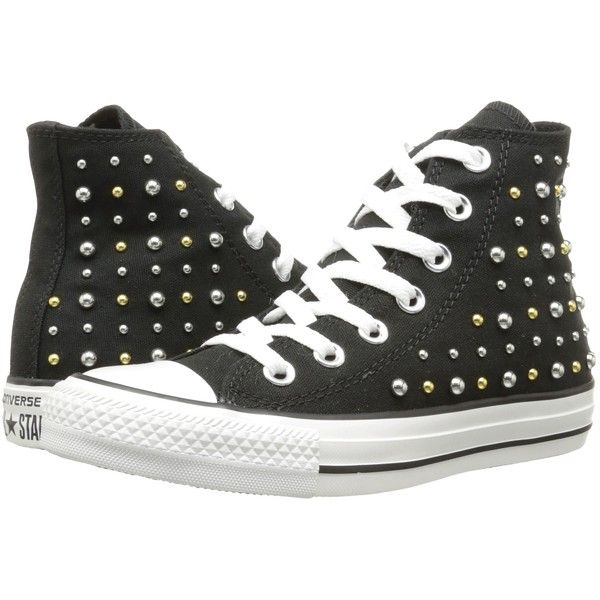 341f55242d6eb0 Converse Chuck Taylor All Star Canvas Studs Hi Women s Lace up casual... (