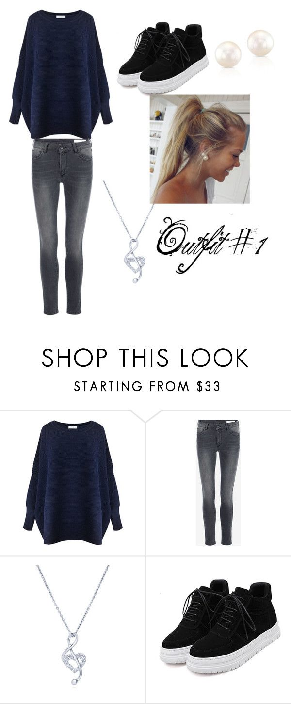 """""""Outfit #1"""" by didntseethatcoming ❤ liked on Polyvore featuring Paisie, BERRICLE and Anne Sisteron"""
