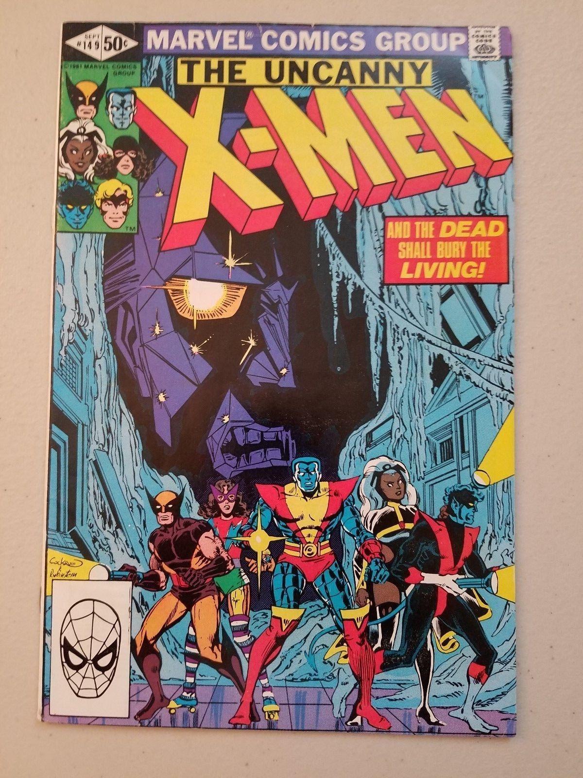 Uncanny X Men 149 8 5 1980 Marvel Comics Wolverine Storm Cyclops Phoenix 7 99 0 Bids End Date Sunday Apr Marvel Comic Books Marvel Comics Covers X Men