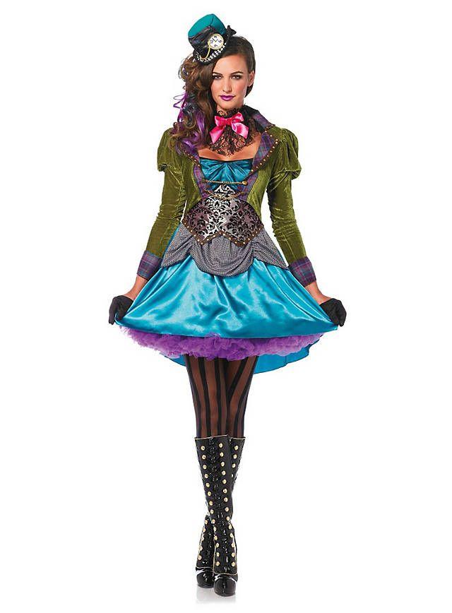 Verruckte Hutmacherin Deluxe Kostum Kostume Pinterest