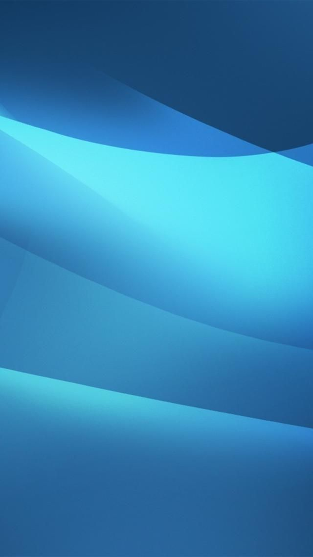 Hd Blue Waves Iphone 5 Wallpapers
