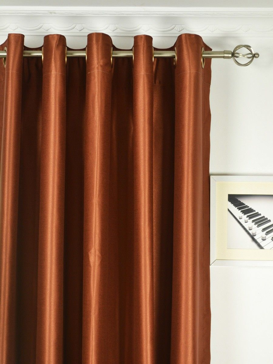Extra Wide Swan Brown Solid Grommet Curtains 100 Inch 120 Width Panels Cheery Ready Made And Custom For Less