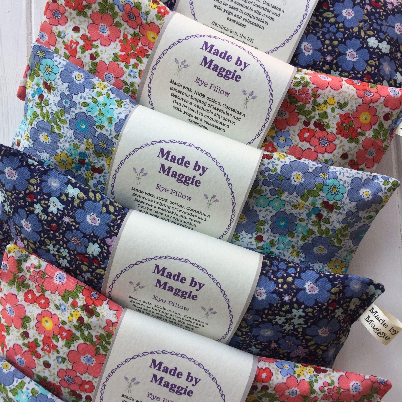 Washable slip cover Lavender Eye Pillow