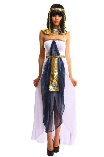 Damen Kleopatra Kostum Ca 35 Kostum Idee Zu Karneval Halloween