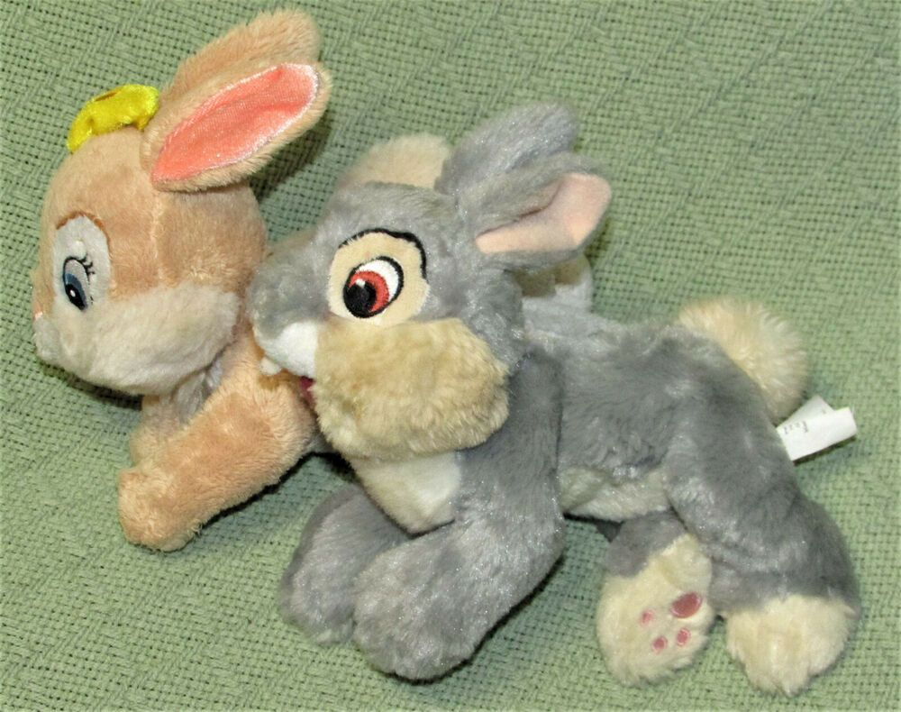 Disney Store Exclusive Plush Miss Bunny Rabbit 15 in Stuffed Bambi Easter NEW
