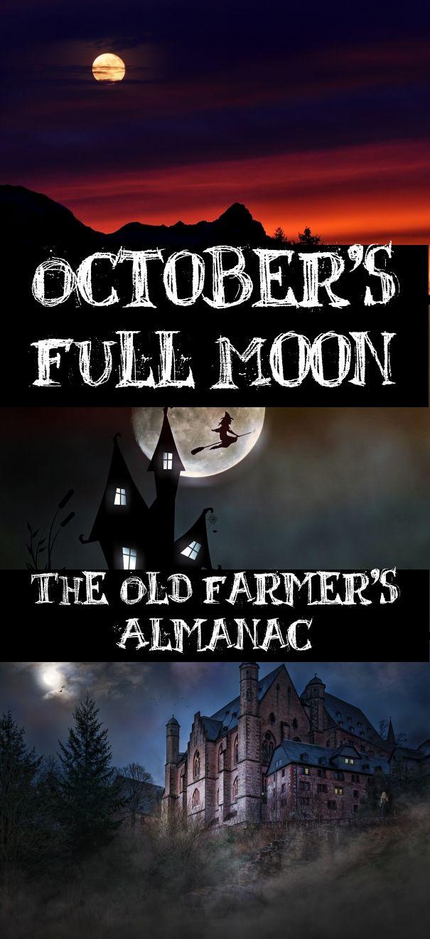 Full Moon for October 2019 Full moon, Full moon october