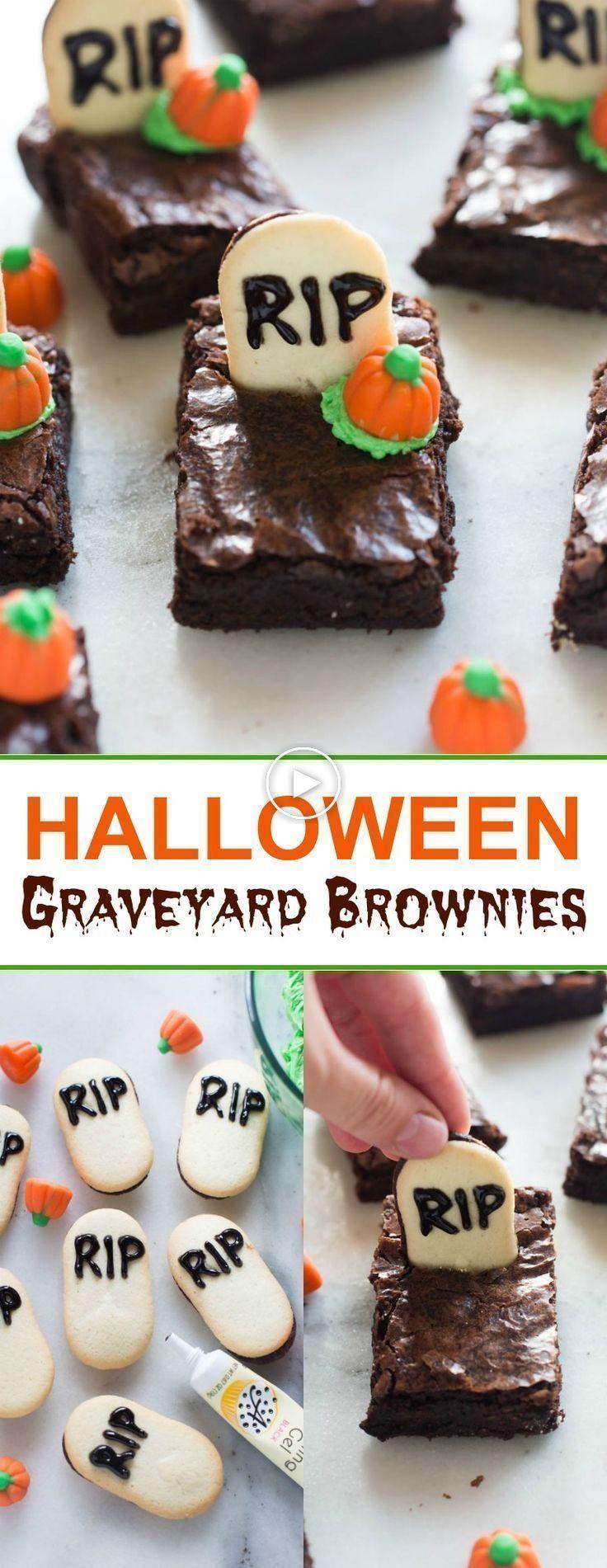 Kerkhof Halloween Brownies #halloweenbrownies
