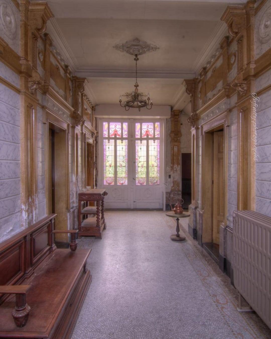 "Beautiful Abandoned Places On Instagram: ""Abandoned Manor"