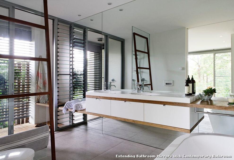 Extending Bathroom Mirrors
