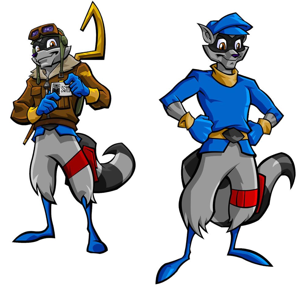 sly cooper design the