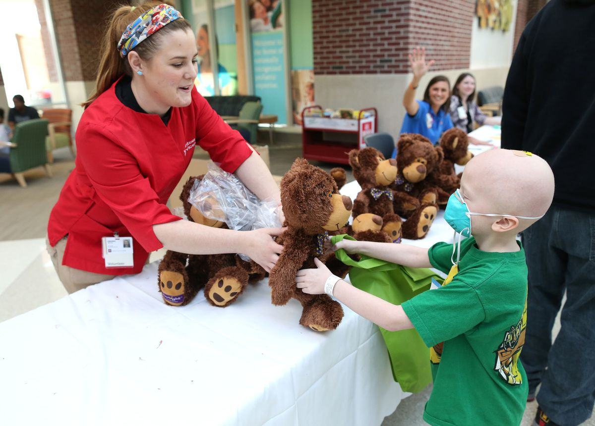 Kids Play Doctor At Hospital's Teddy Bear Clinic, Spread A
