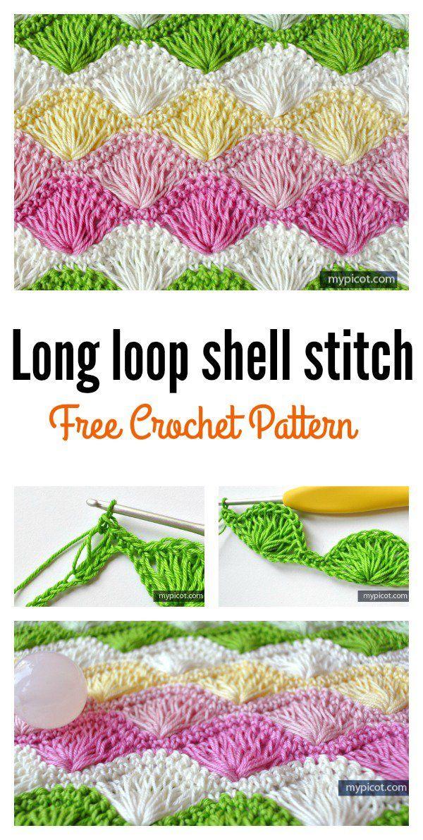 Beautiful Shell Stitch Crochet Free Patterns and Projects (Part 2 ...