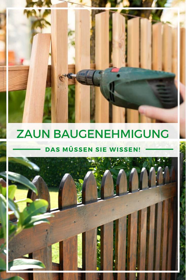 Zaun Baugenehmigung Alle Infos zur Einfriedung Zaun