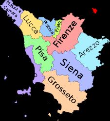 Cartina Italia Lucca.Toscana Toscana Italia Mappa Dell Italia Toscana